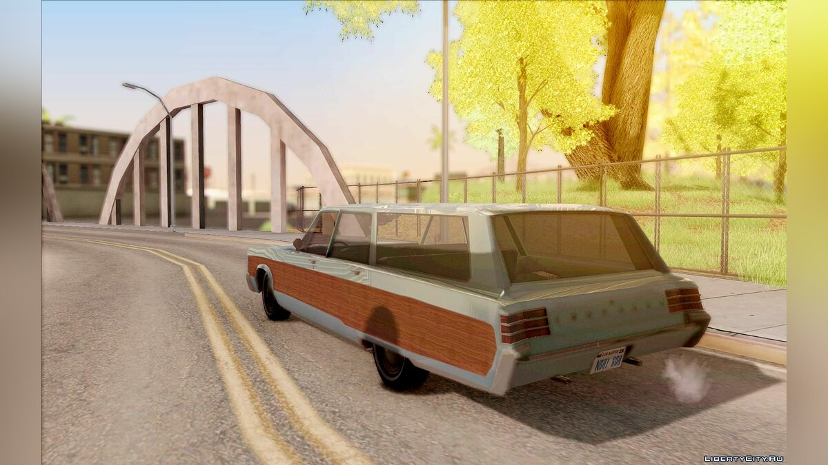 Chrysler Town and Country 1967 для GTA San Andreas - скриншот #6