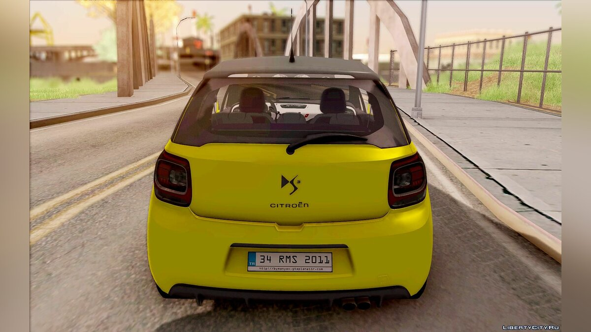 ��ашина Citroën Citroen DS3 Sport 2011 для GTA San Andreas
