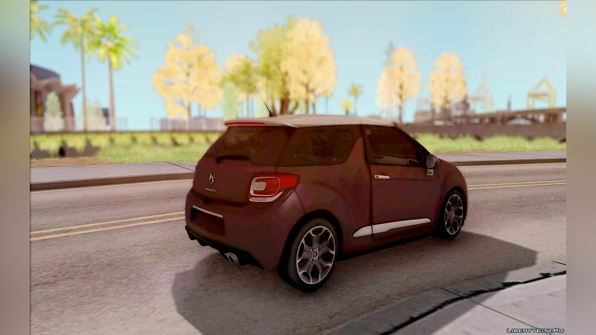 ��ашина Citroën Citroen DS3 2011 для GTA San Andreas