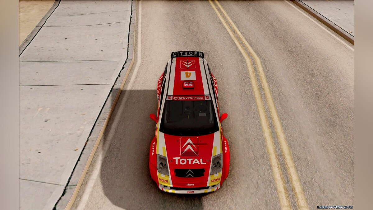 ��ашина Citroën Citroen Rally Car для GTA San Andreas