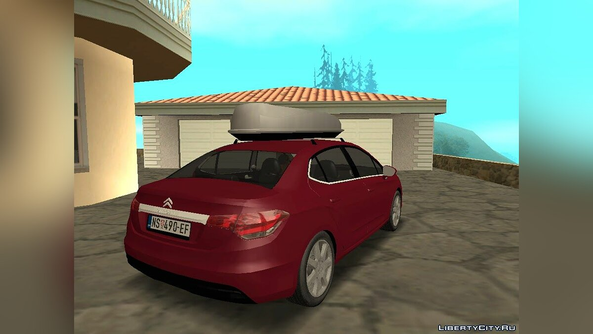 Машина Citroën Citroen C4 Lounge для GTA San Andreas