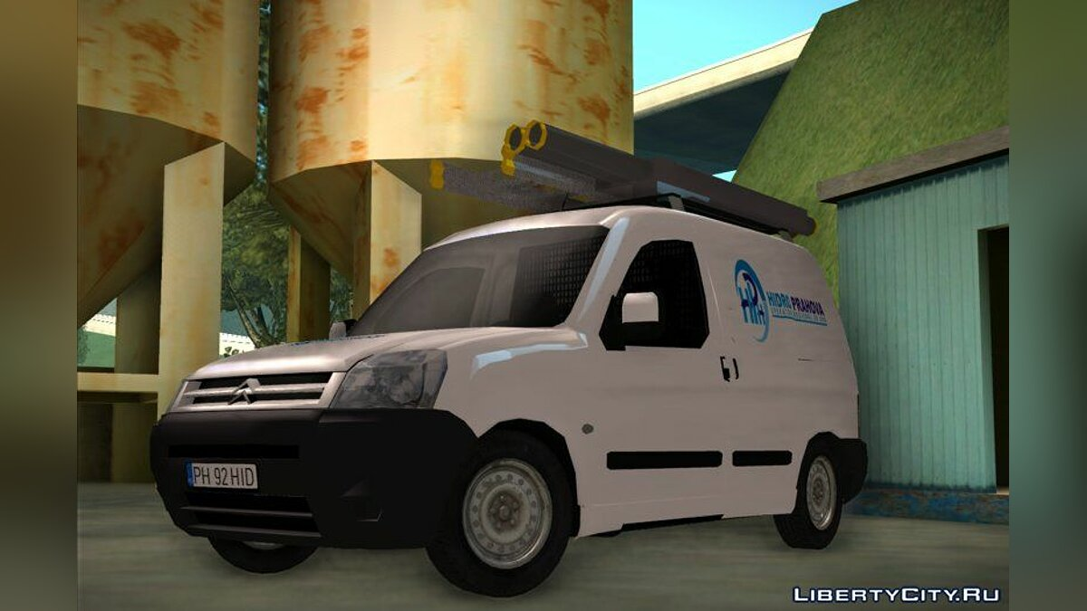 Машина Citroën Citroen Berlingo - HidroPrahova Edition для GTA San Andreas