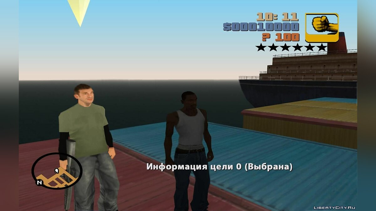 ��едактор миссий GTA SA: Liberty City Beta 7 - DYOM Fix для GTA San Andreas