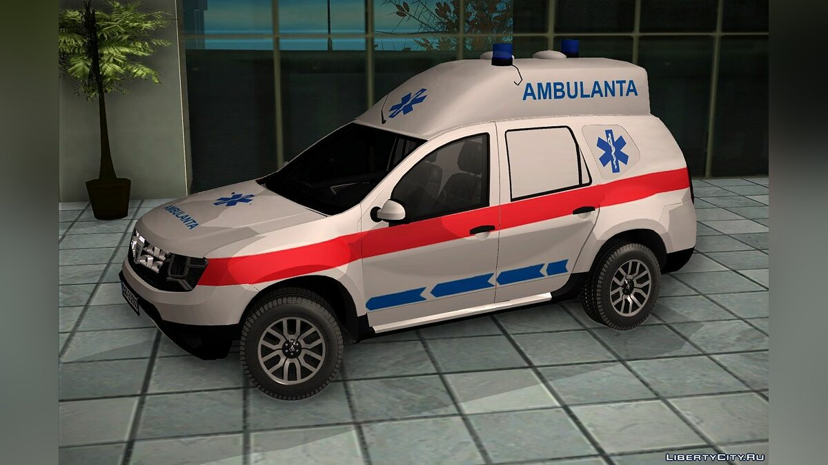 Машина Dacia 2018 Dacia Duster Ambulanta для GTA San Andreas