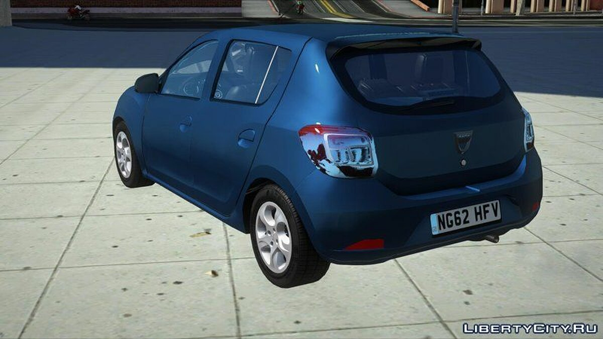 Машина Dacia Dacia Sandero 2014 James May для GTA San Andreas