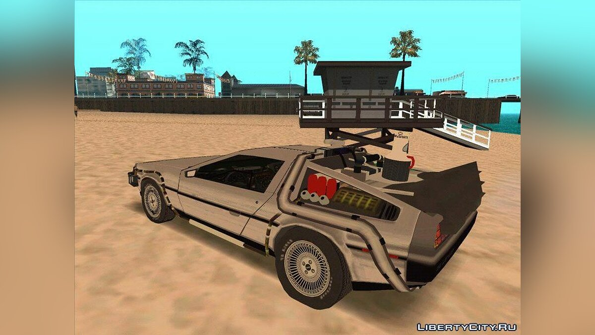 Машина Delorean Delorean Time Machine BTTF 2 - Машина из фильма
