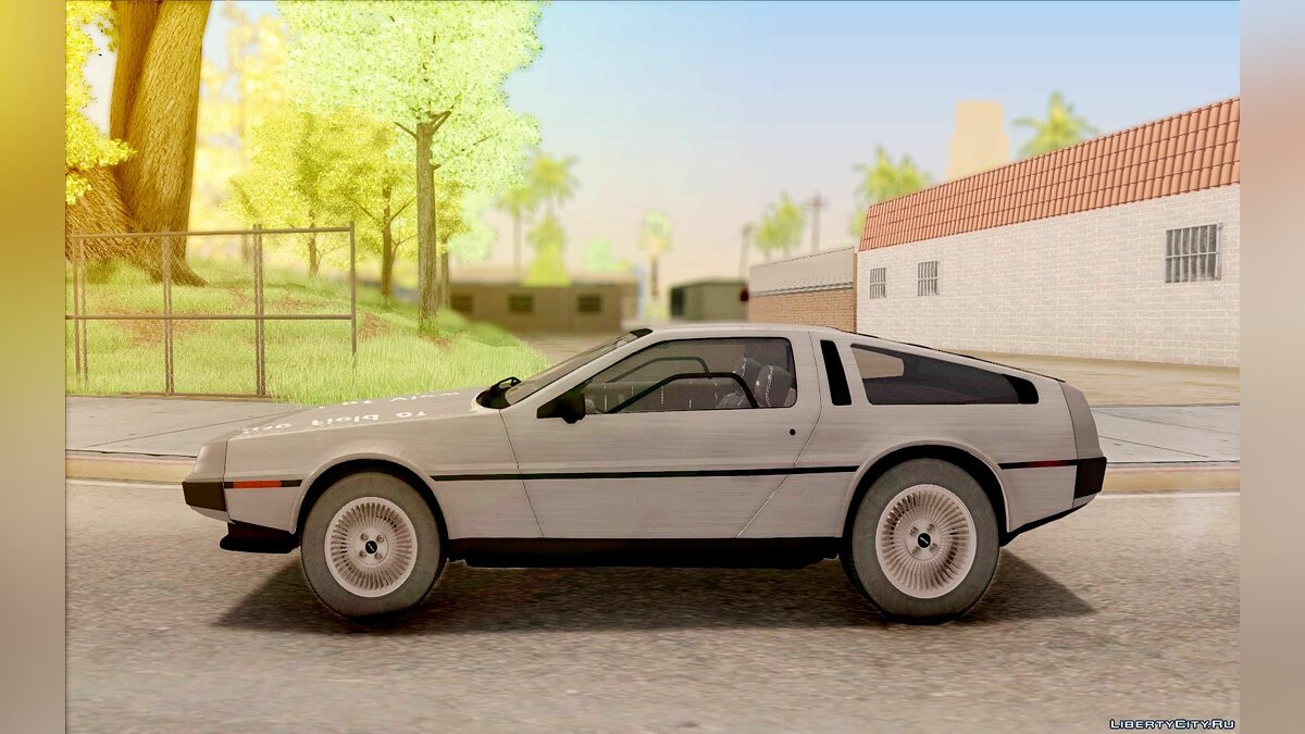 Машина Delorean DeLorean DMC-12 1982 для GTA San Andreas