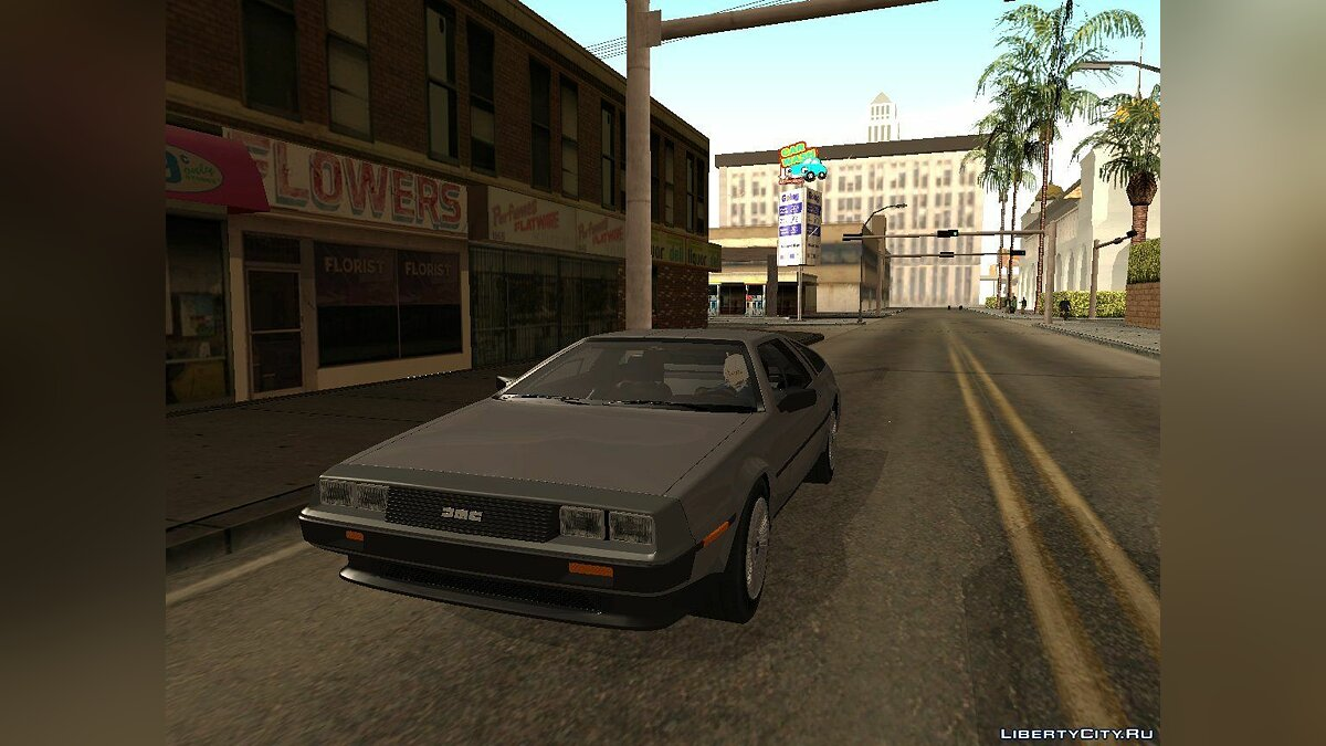 Машина Delorean DeLorean DMC-12 V8 Black Revel для GTA San Andreas