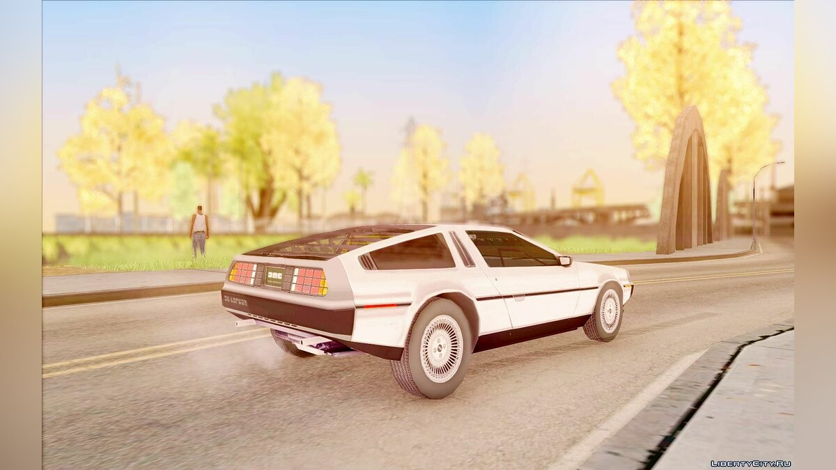 Машина Delorean DeLorean 81 для GTA San Andreas