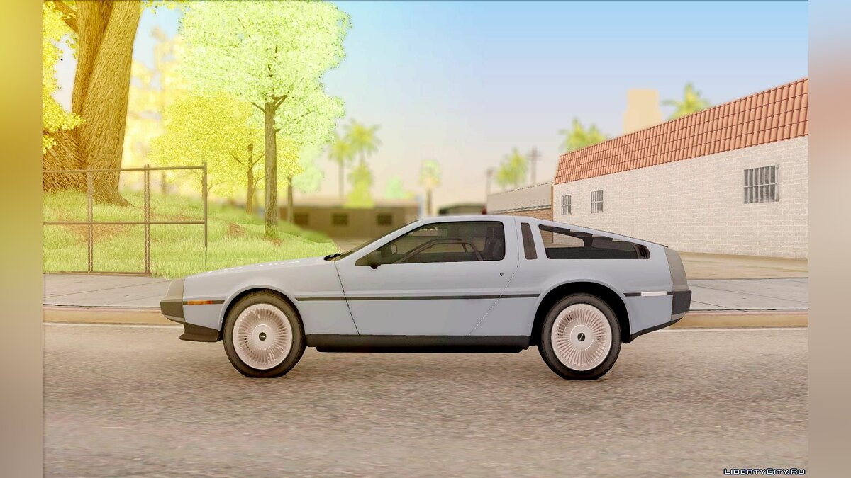 Машина Delorean DeLorean DMC-12 для GTA San Andreas