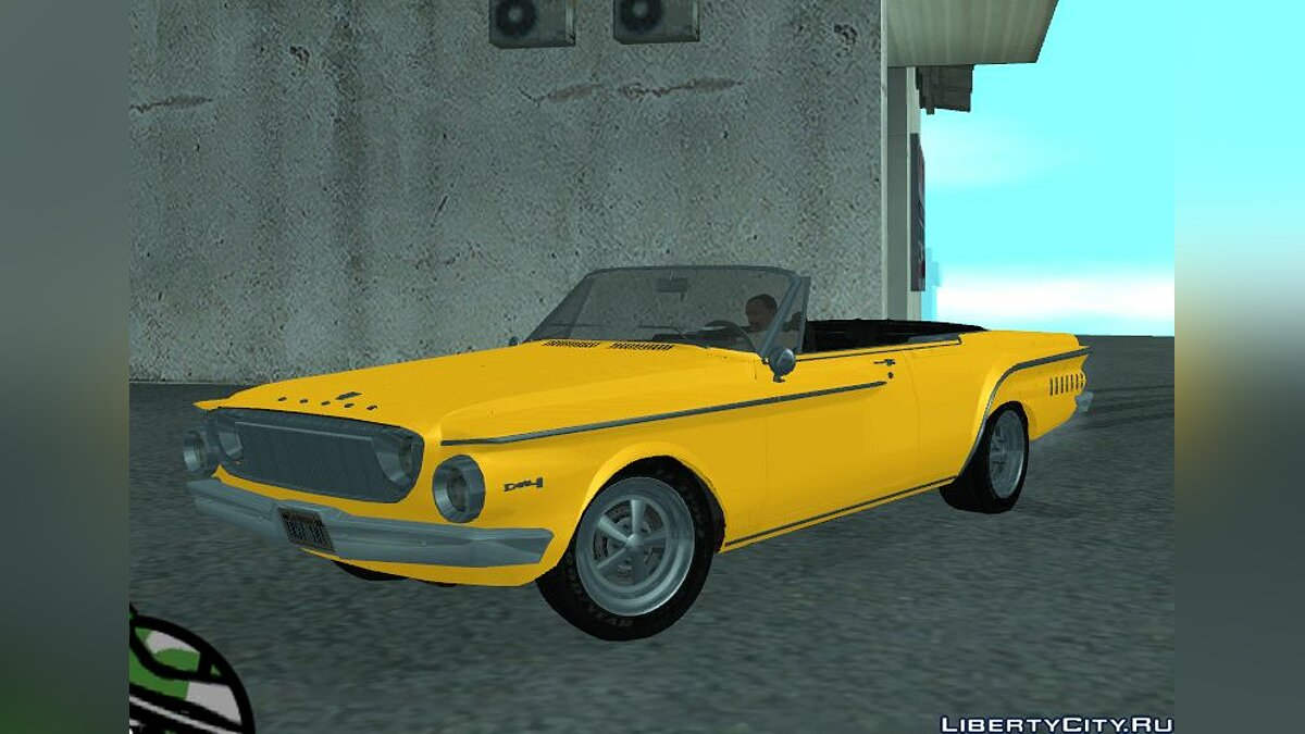Dodge Dart 440 1962 (stock and custom) v3.0 final для GTA San Andreas