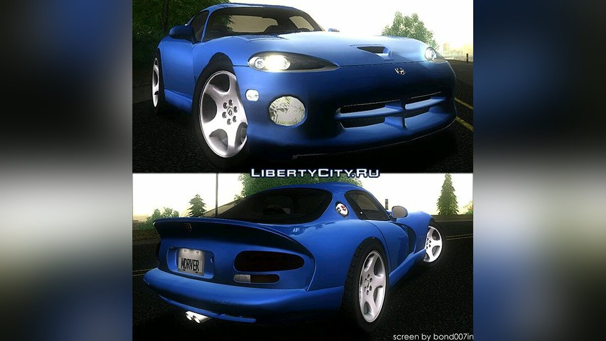 Dodge Viper GTS Coupe для GTA San Andreas