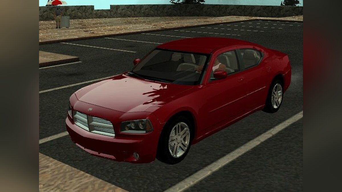 Dodge Charger RT - Stock для GTA San Andreas
