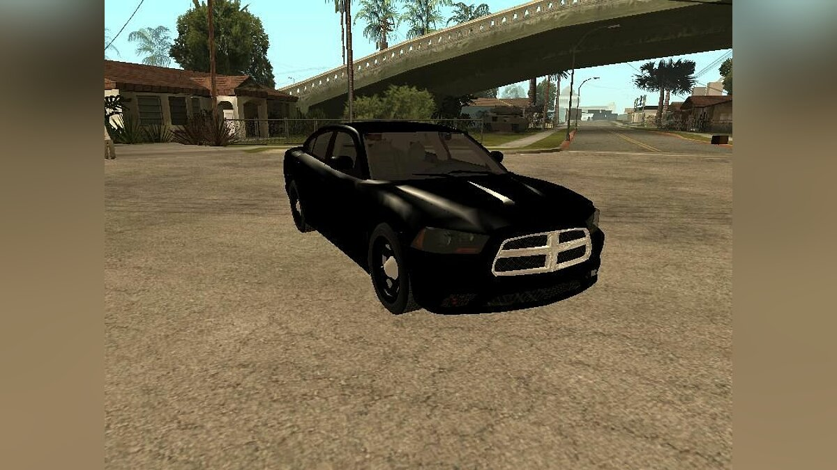 2011 Dodge Charger Unmarked для GTA San Andreas