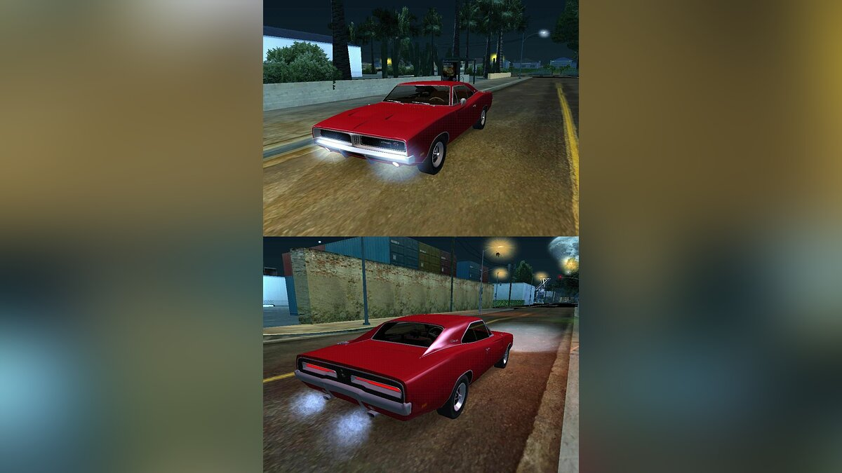1969 Dodge Charger R/T Stock для GTA San Andreas