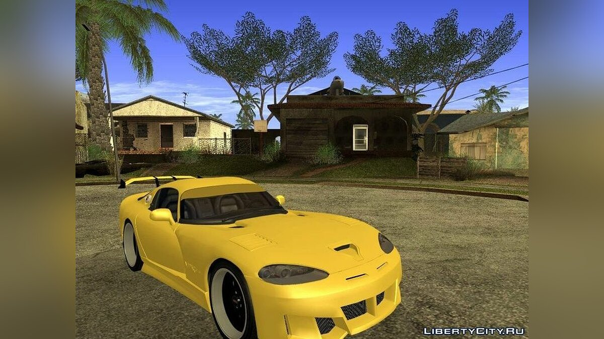 Dodge Viper GTS Tunable v1.0 для GTA San Andreas - скриншот #3