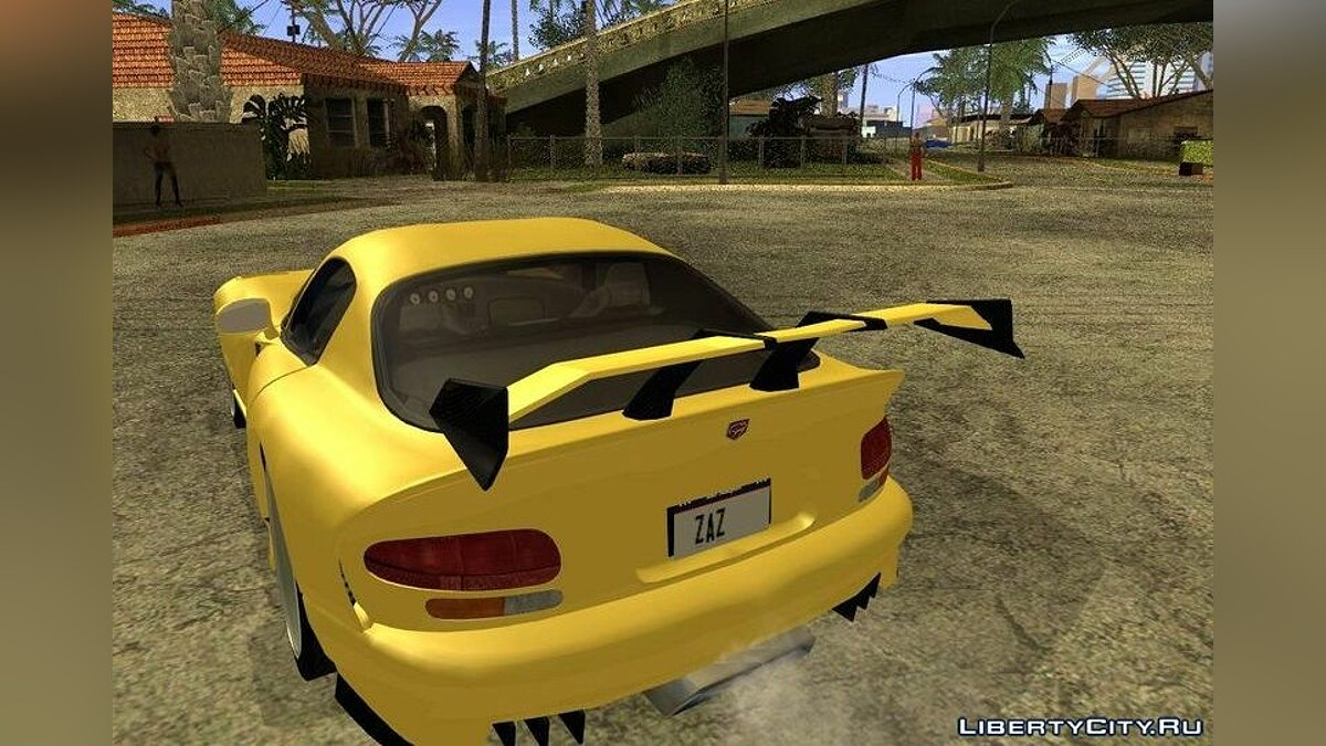Dodge Viper GTS Tunable v1.0 для GTA San Andreas - скриншот #2