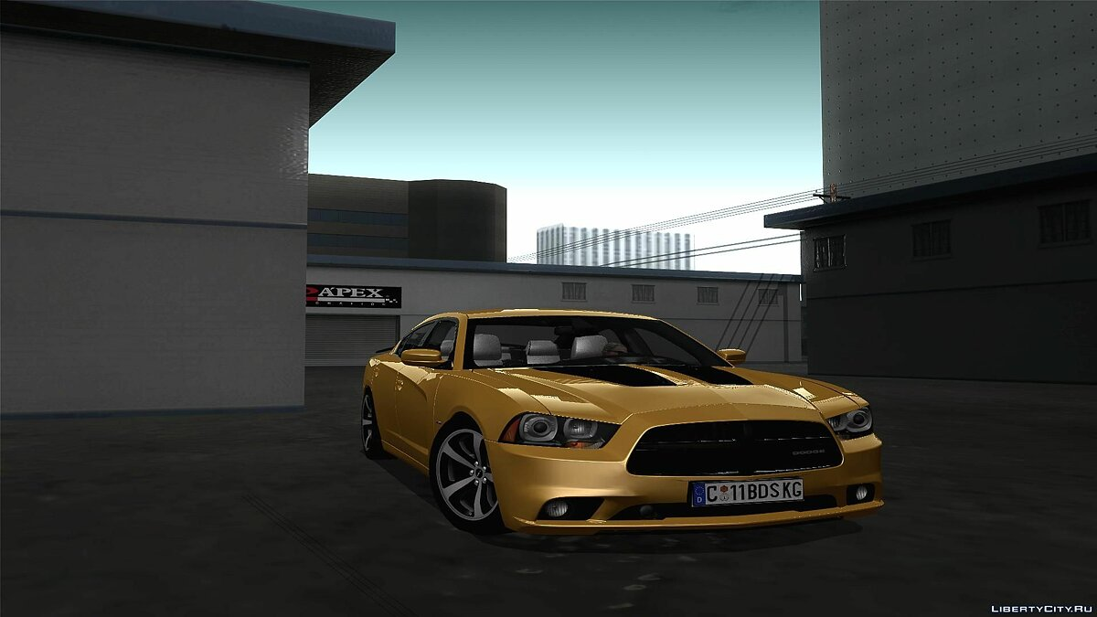 2011 Dodge Charger R/T Super Bee для GTA San Andreas