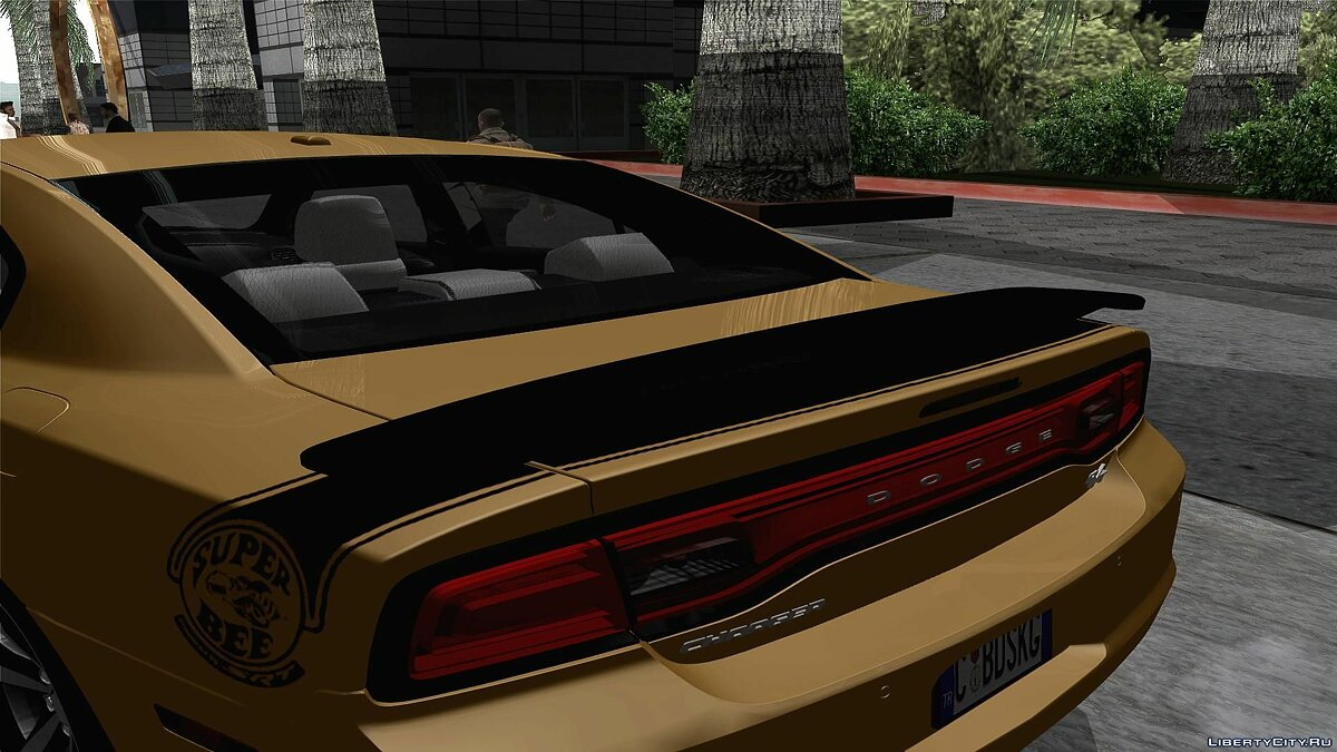 2011 Dodge Charger R/T Super Bee для GTA San Andreas - скриншот #2