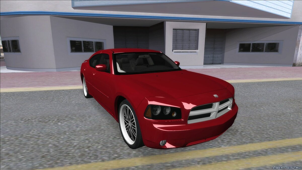 Машина Dodge Dodge Charger RT 2008 для GTA San Andreas