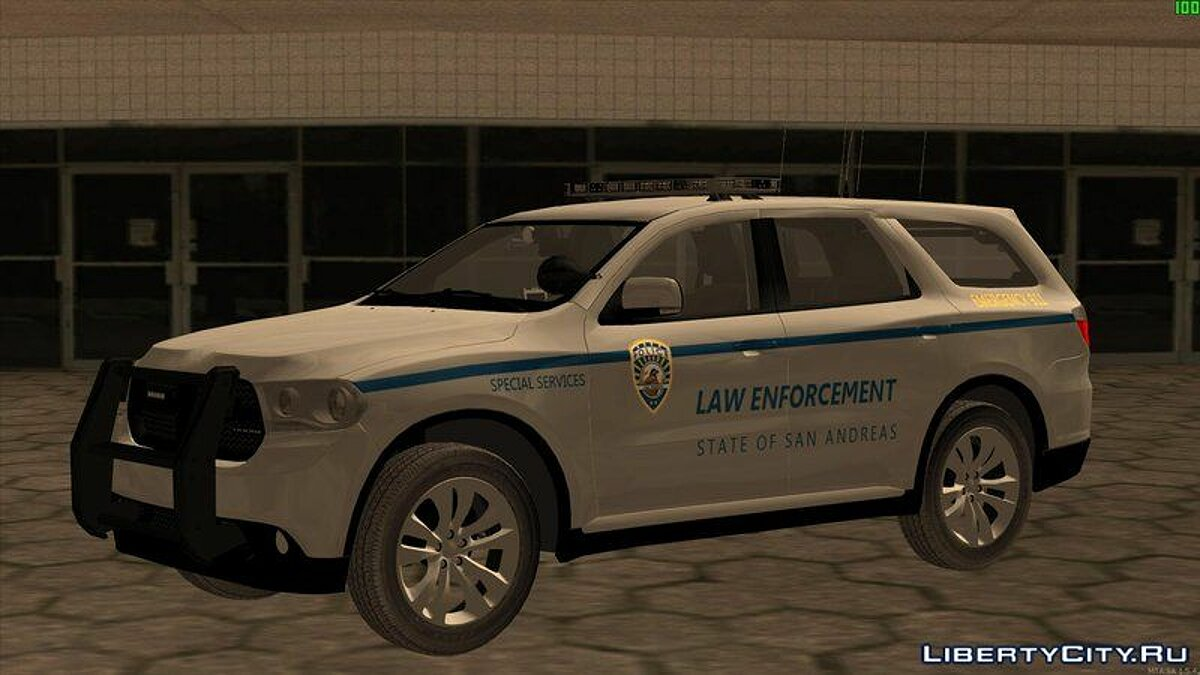 Машина Dodge 2011 Dodge Durango San Andreas Law Enforcement для GTA San Andreas