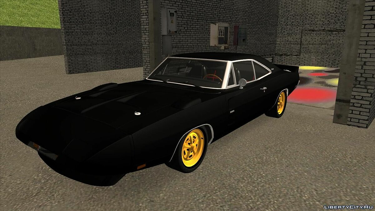 Машина Dodge Dodge Charger Daytona для GTA San Andreas