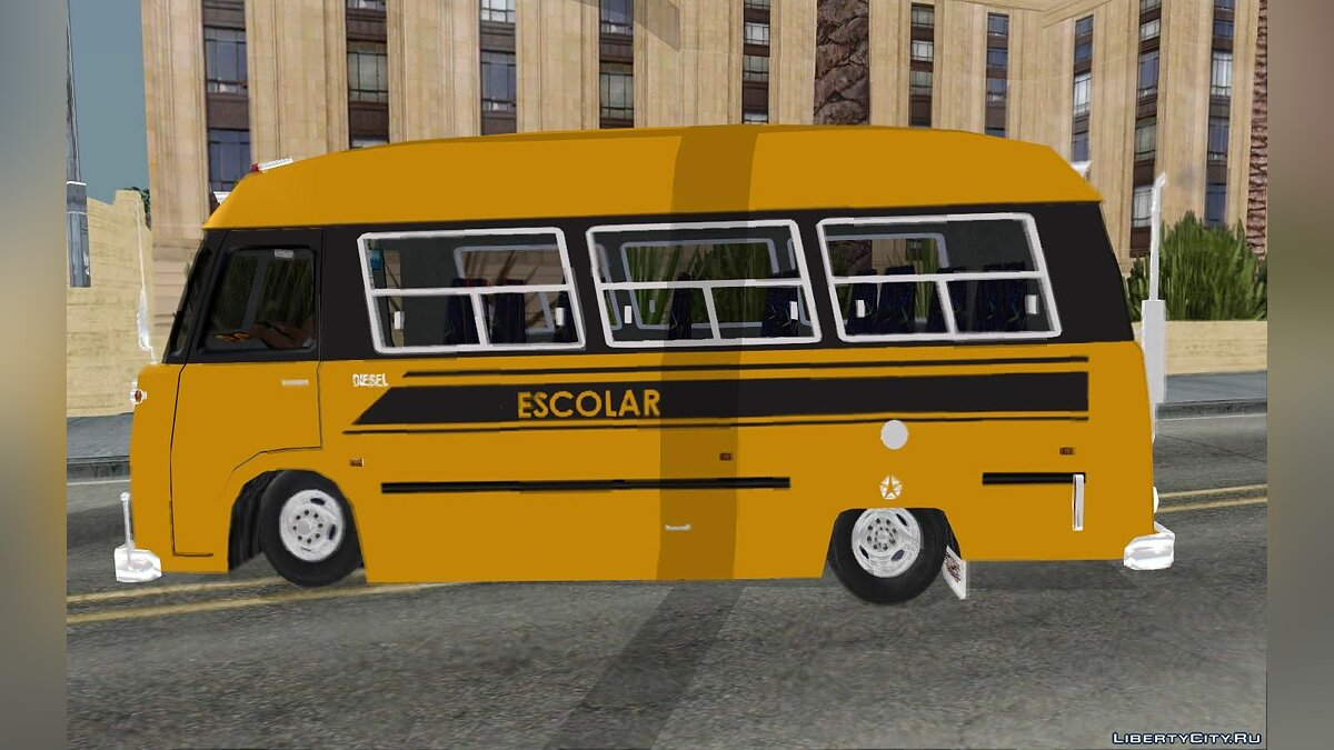 Машина Dodge Dodge Bus Escolar (Hotdog) для GTA San Andreas