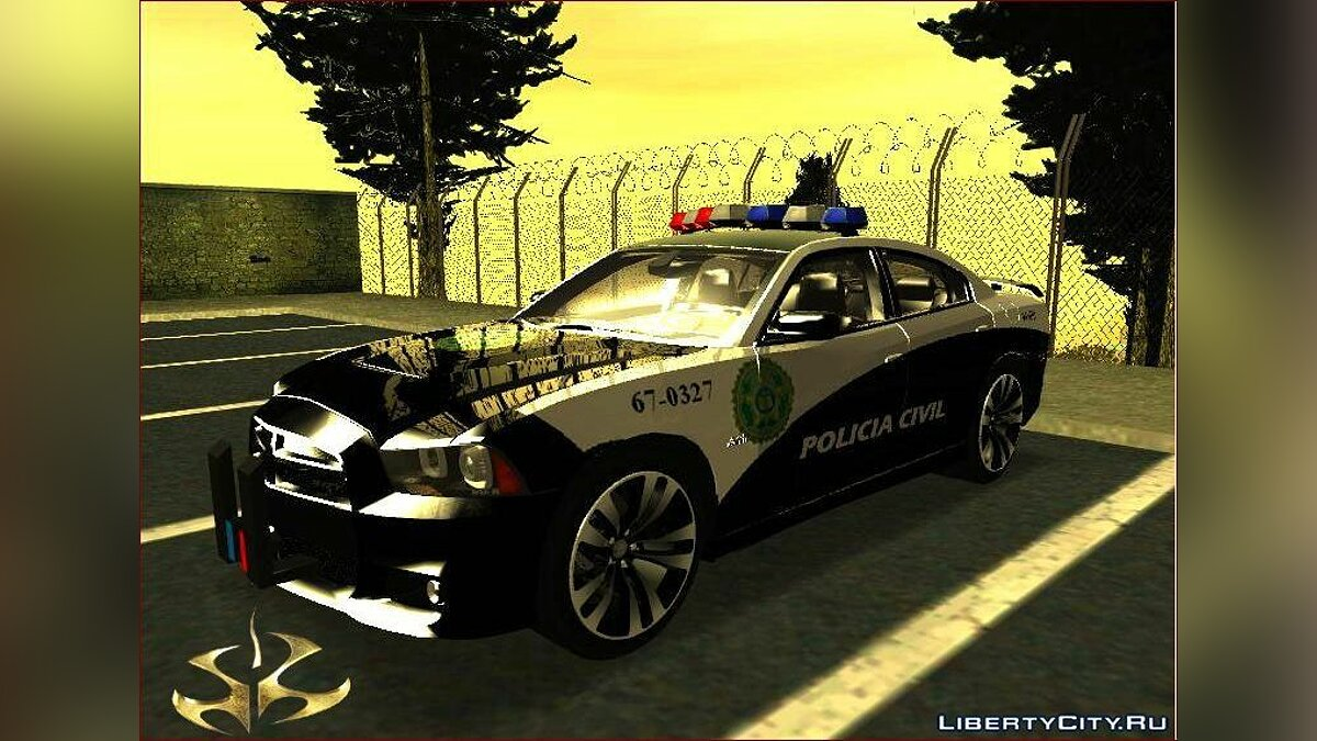Dodge Charger 2012 Fast Five Police для GTA San Andreas
