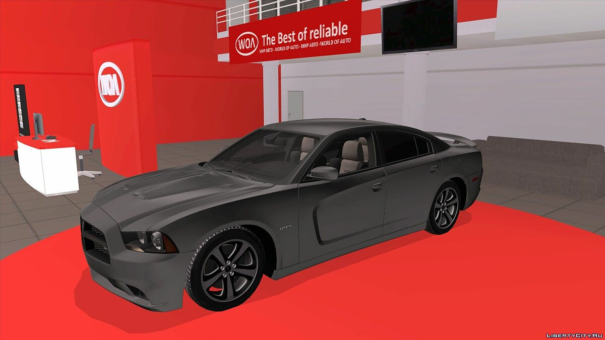 Машина Dodge Dodge Charger RT 2013 для GTA San Andreas