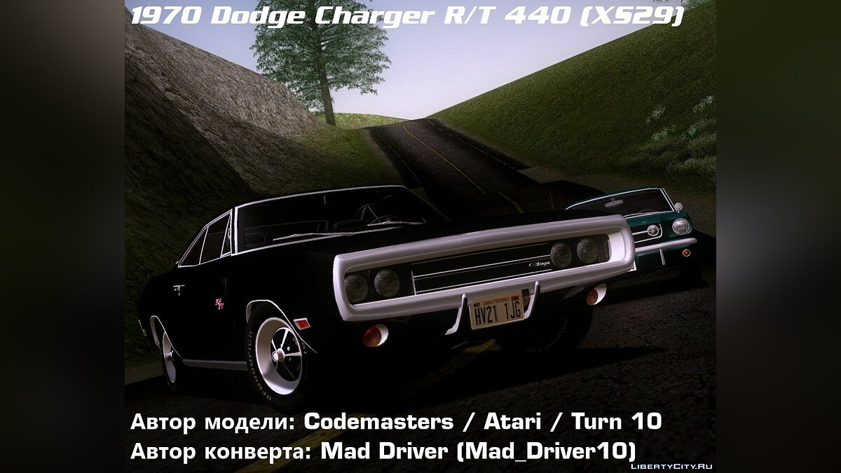 Dodge Charger RT 440 (XS29) 1970 для GTA San Andreas