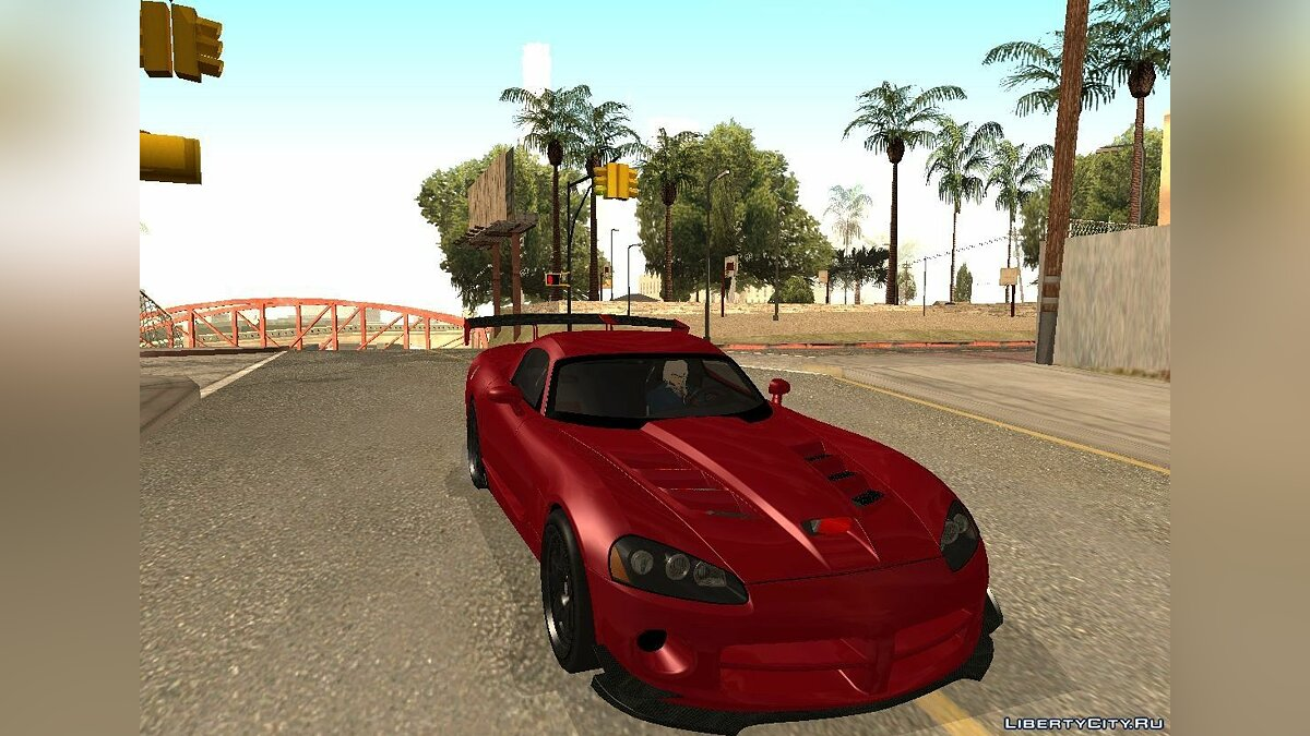 "Dodge Viper SRT-10 ACR ""TT Black Revel"" для GTA San Andreas"