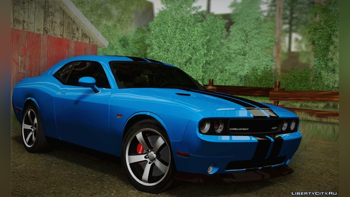 Dodge Challenger SRT8 392 2012 для GTA San Andreas - скриншот #4