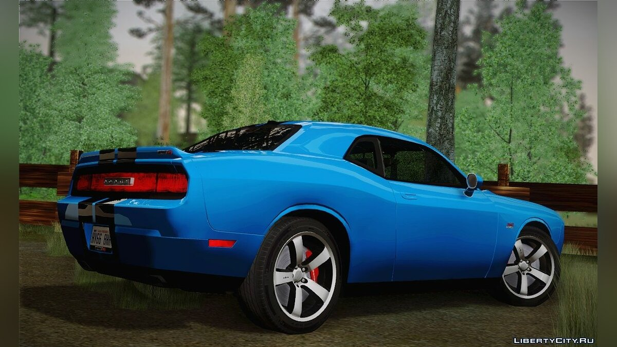 Dodge Challenger SRT8 392 2012 для GTA San Andreas - скриншот #6