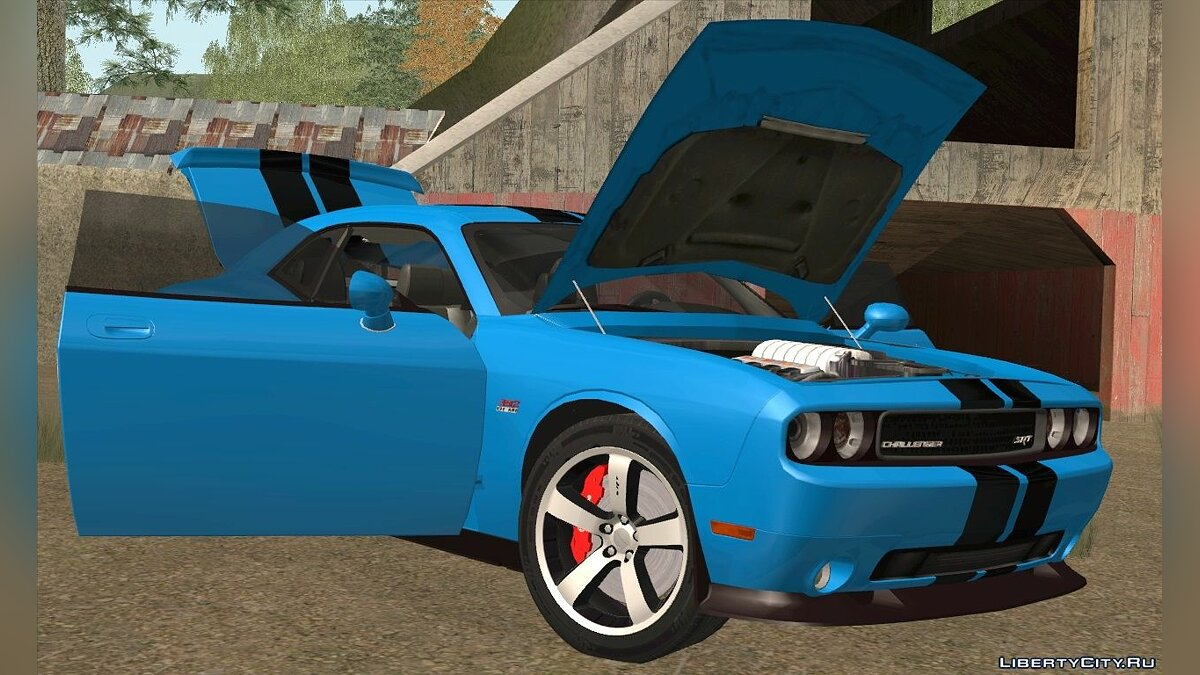 Dodge Challenger SRT8 392 2012 для GTA San Andreas - скриншот #5