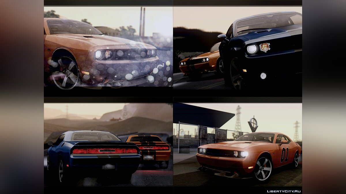 Dodge Challenger SRT8 392 2012 для GTA San Andreas