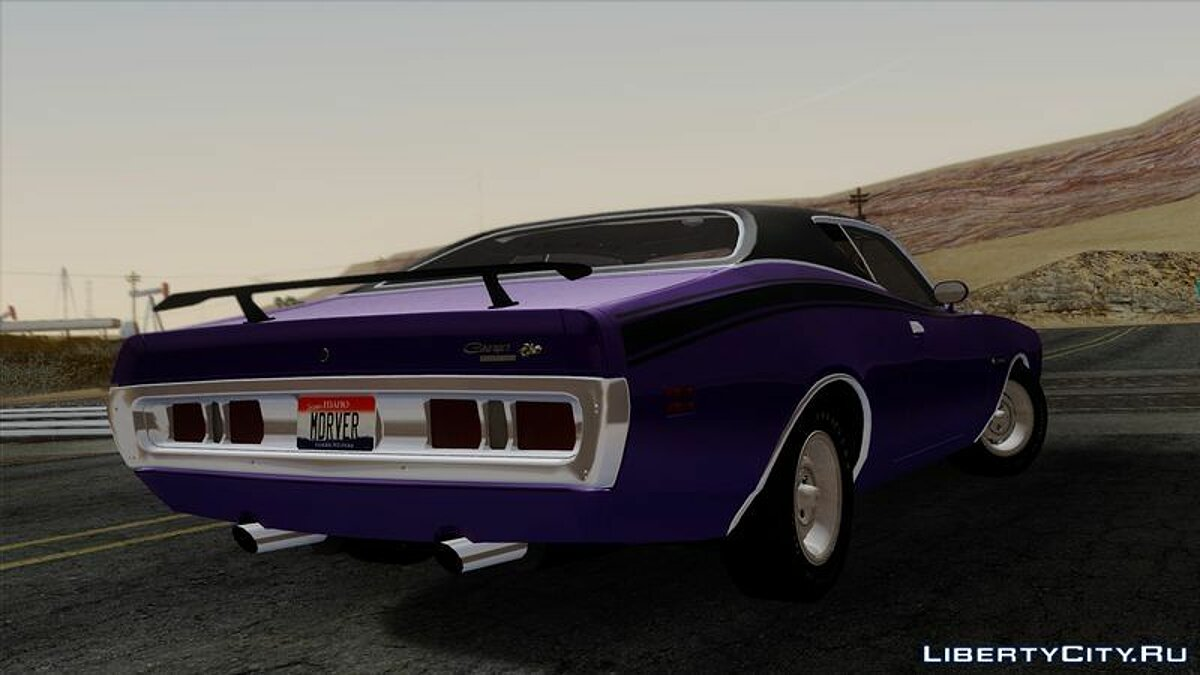 ��ашина Dodge Dodge Charger Super Bee 426 Hemi (WS23) 1971 для GTA San Andreas