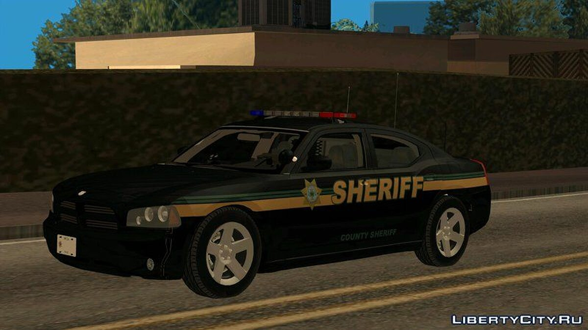 Dodge Charger County Sheriff для GTA San Andreas