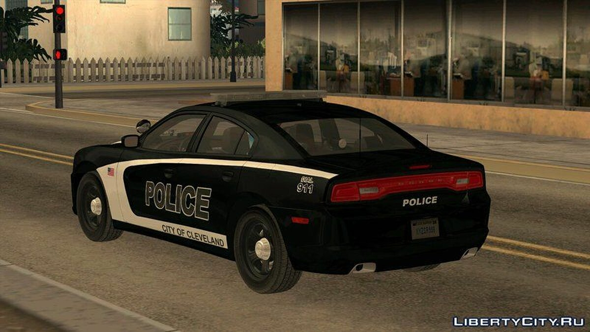 2014 Dodge Charger Cleveland TN Police для GTA San Andreas - скриншот #2