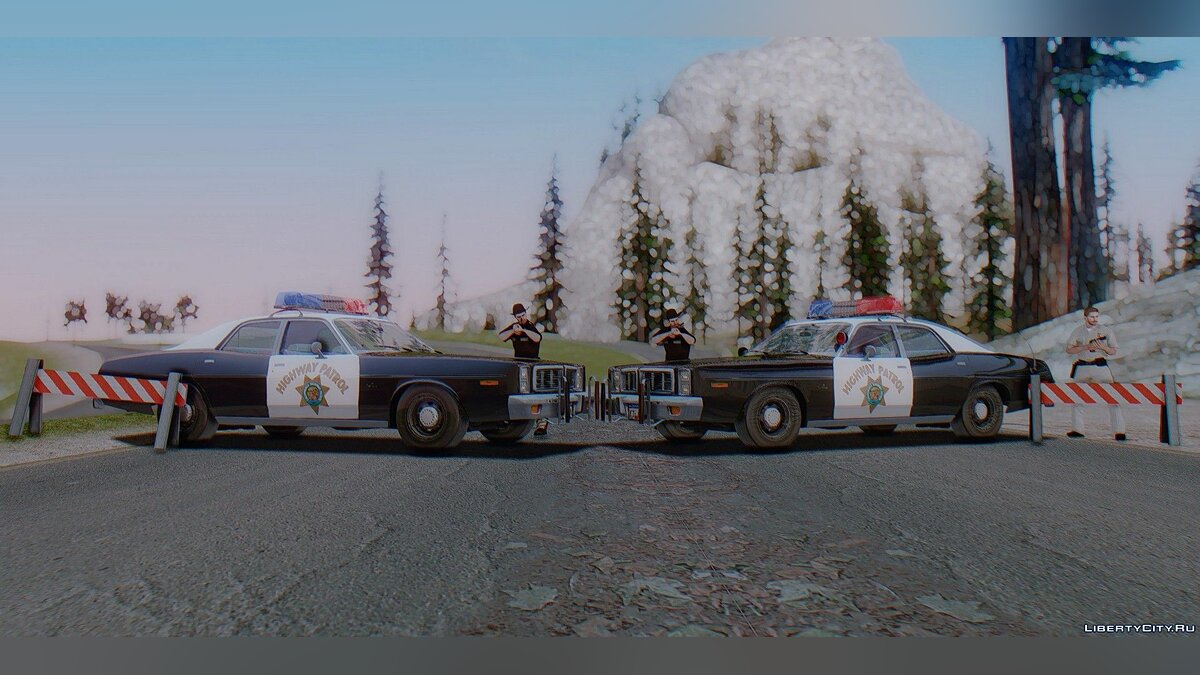 Машина Dodge Dodge Monaco California Highway Patrol 1978 для GTA San Andreas