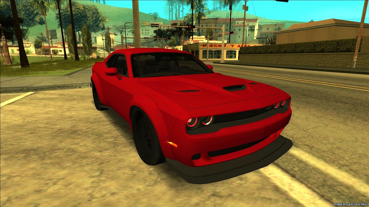 Машина Dodge Dodge Challenger Liberty Walk для GTA San Andreas