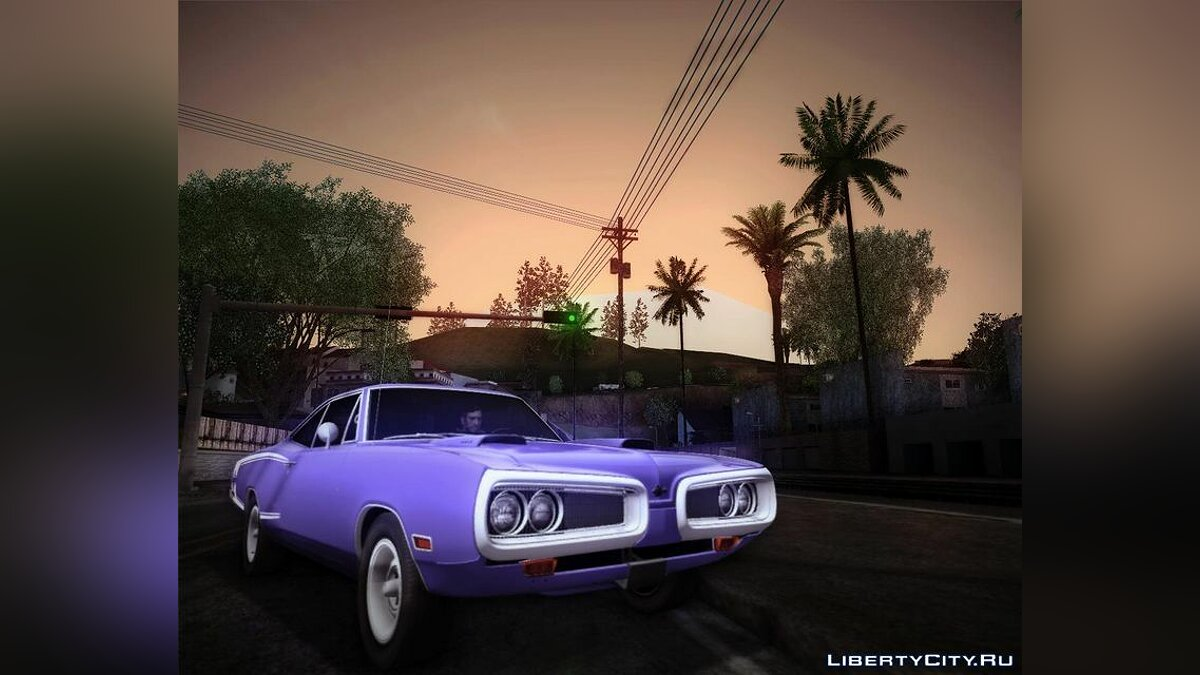 1970 Dodge Coronet Super Bee для GTA San Andreas - скриншот #2