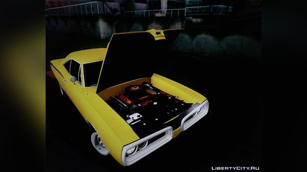 1970 Dodge Coronet Super Bee для GTA San Andreas - скриншот #3
