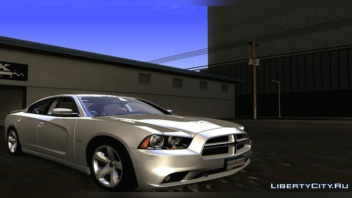 2011 Dodge Charger R/T V1.0 для GTA San Andreas