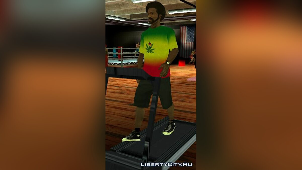 Shirt of Jamaica для GTA San Andreas
