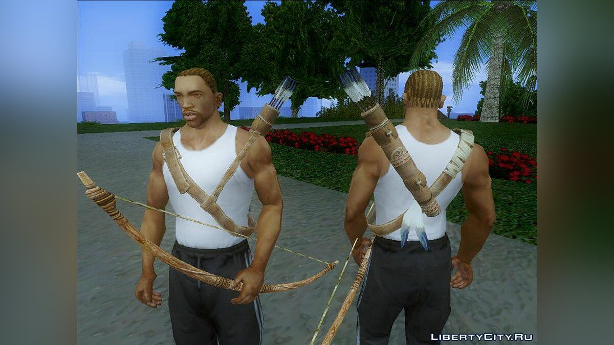Футболка и кофта Quiver V1.0 From Assassin's Creed III для GTA San Andreas