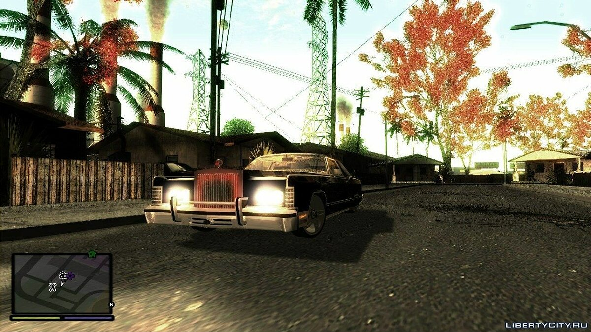 GTA San Andreas HD: ENBSeries. для GTA San Andreas