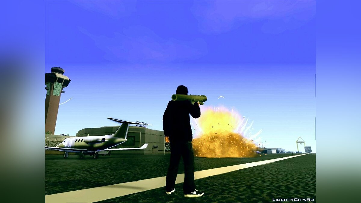 Like A Saints ENB Series v0.1 для GTA San Andreas - скриншот #8