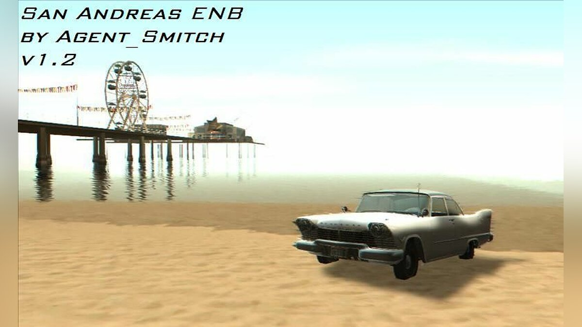 San Andreas ENB by Agent_Smitch v1.2 (final) для GTA San Andreas