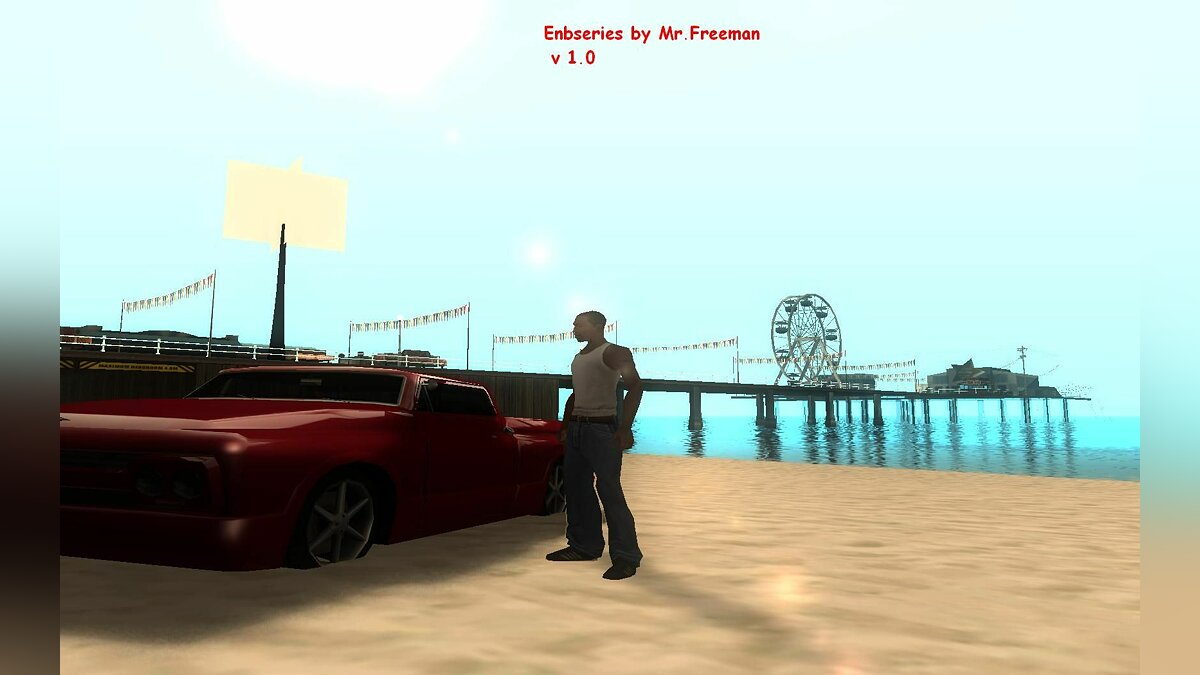 ENBseries by Mr.Freeman v 1.0 для GTA San Andreas
