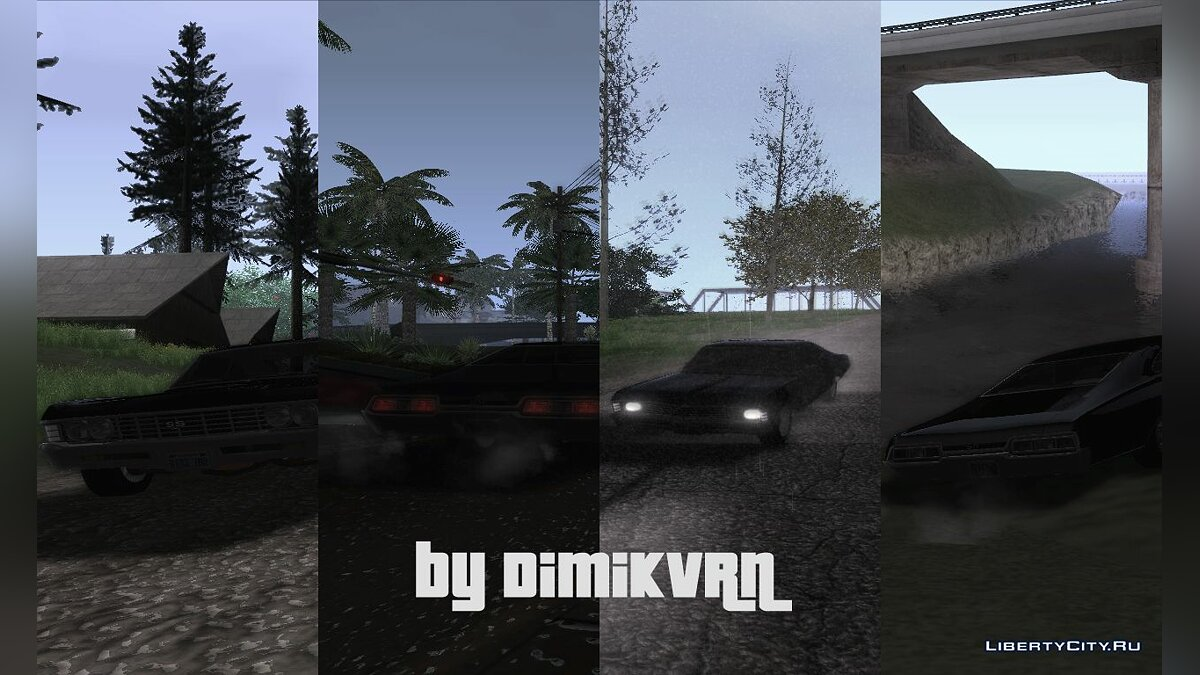Supernatural ENB V.0.1 для GTA San Andreas